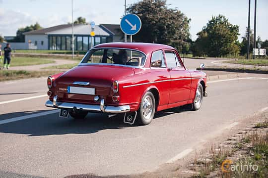 Bak/Sida av Volvo Amazon 123 GT 1.8 Manual, 96ps, 1967 på Lergökarallyt 2018