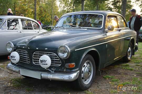 Front/Side  of Volvo Amazon 121 P130 2.0 Manual, 82ps, 1970 at Onsdagsträffar på Gammlia Umeå 2019 vecka 35