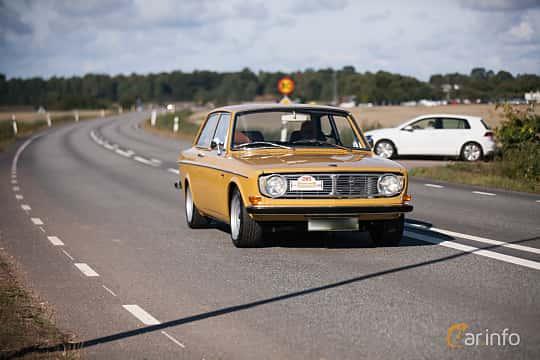 Fram/Sida av Volvo 142 2.0 Manual, 82ps, 1970 på Lergökarallyt 2018