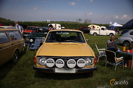 Front  of Volvo 142 2.0 Manual, 82ps, 1973 at Tjolöholm Classic Motor 2018