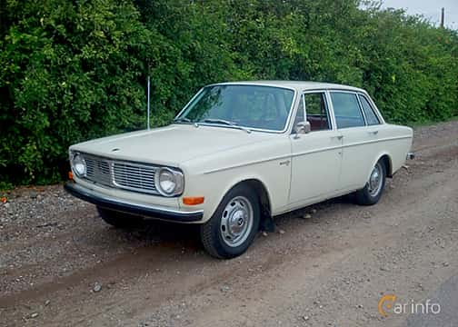Front/Side  of Volvo 144 1967