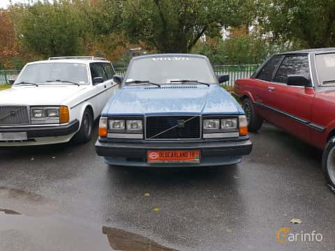 Front  of Volvo 245 2.3 112ps, 1982 at Old Car Land no.2 2018