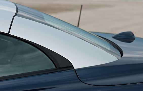 Close-up of Volvo C70 Cabriolet