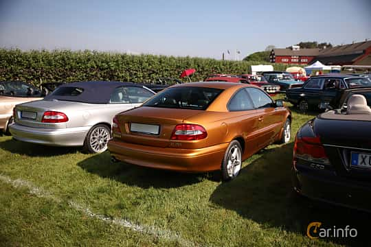 Back/Side of Volvo C70 Coupé 2.3 T5 Automatic, 240ps, 1998 at Tjolöholm Classic Motor 2018
