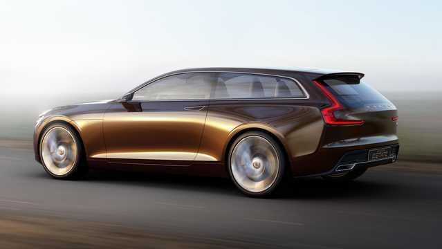 Back/Side of Volvo Concept Estate Concept Concept, 2014
