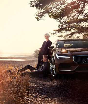 Close-up of Volvo Concept Estate Concept Concept, 2014