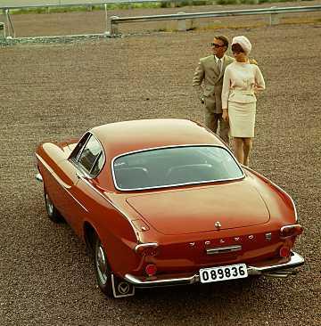 Back/Side of Volvo P1800 1st Generation