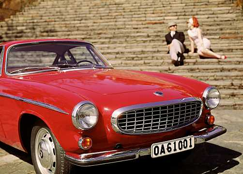 Front/Side  of Volvo P1800 1st Generation
