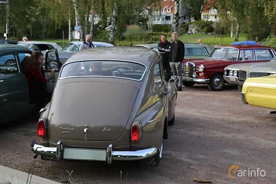 Back/Side of Volvo PV544C 1.8 Manual, 75ps, 1962 at Kungälvs Kulturhistoriska Fordonsvänner  2019 Torsdag vecka 35
