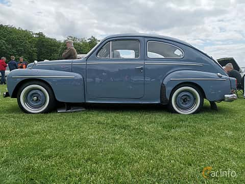 Side  of Volvo PV544A 1.6 Manual, 60ps, 1960 at Sofiero Classic 2019