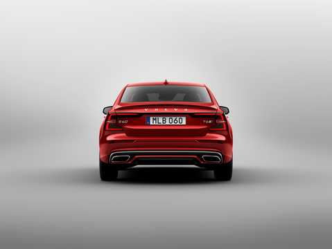 Back of Volvo S60 T6 AWD Geartronic, 340hp, 2019