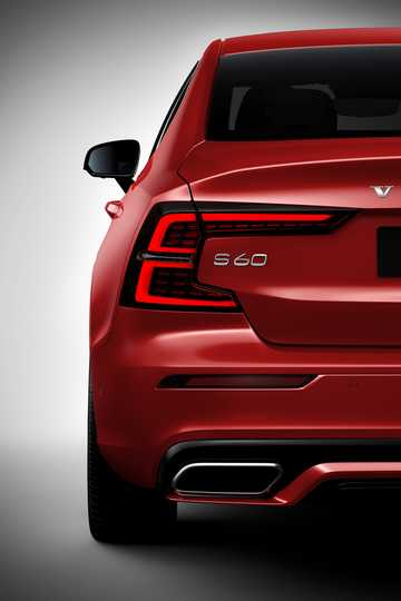 Close-up of Volvo S60 T6 AWD Geartronic, 340hp, 2019