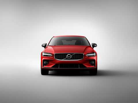 Front  of Volvo S60 T6 AWD Geartronic, 340hp, 2019