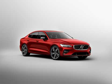 Front/Side  of Volvo S60 T6 AWD Geartronic, 340hp, 2019