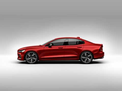 Side  of Volvo S60 T6 AWD Geartronic, 340hp, 2019