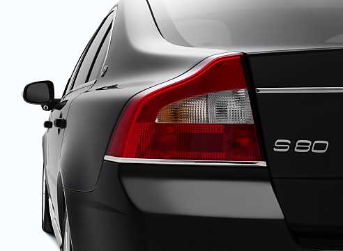 Close-up of Volvo S80 2009