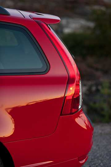 Close-up of Volvo V50 M Facelift