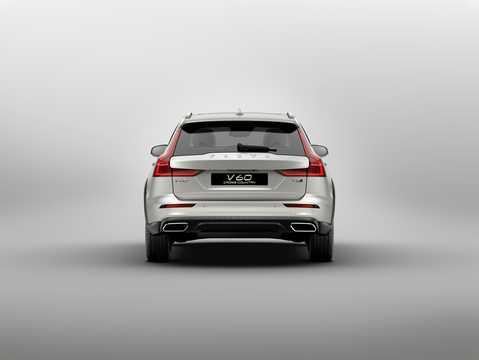 Back of Volvo V60 Cross Country 2019