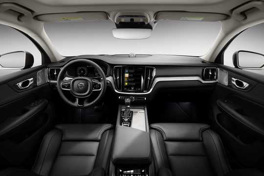 Interior of Volvo V60 Cross Country 2019