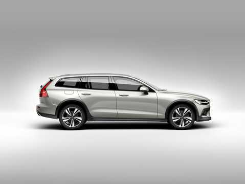 Side  of Volvo V60 Cross Country 2019