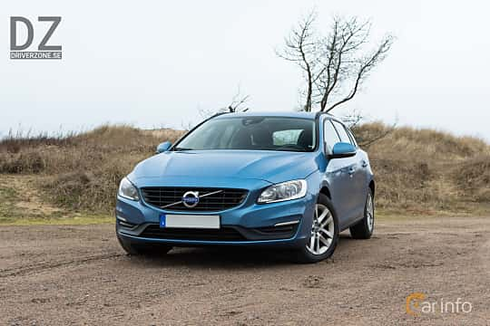 Front/Side  of Volvo V60 D2 Manual, 120ps, 2017