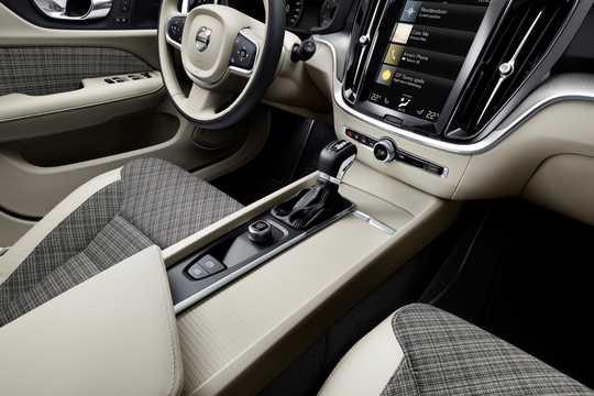 Interior of Volvo V60 2019