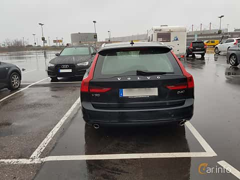 Back of Volvo V90 2.0 D4 AWD Geartronic, 190ps, 2017