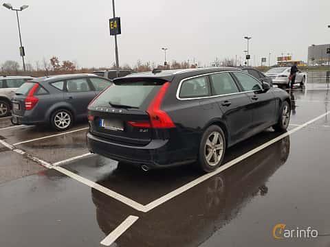 Bak/Sida av Volvo V90 2.0 D4 AWD Geartronic, 190ps, 2017