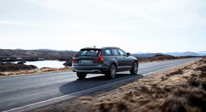 Back/Side of Volvo V90 Cross Country 1st Generation