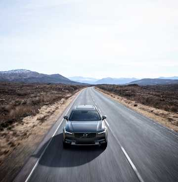 Front  of Volvo V90 Cross Country 1st Generation