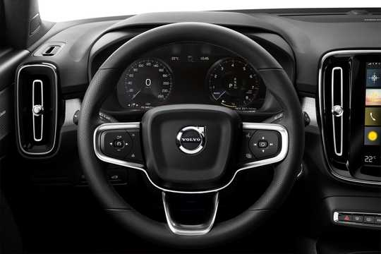 Interior of Volvo XC40 T5 AWD Geartronic, 247hp, 2018