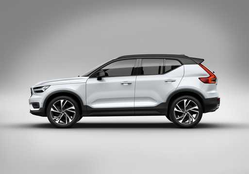 Side  of Volvo XC40 T5 AWD Geartronic, 247hp, 2018