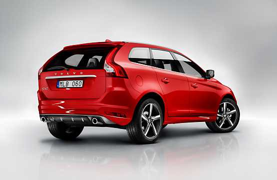 Back/Side of Volvo XC60 2014
