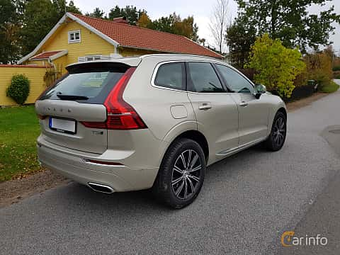 Back/Side of Volvo XC60 2.0 T5 AWD Geartronic, 254ps, 2018