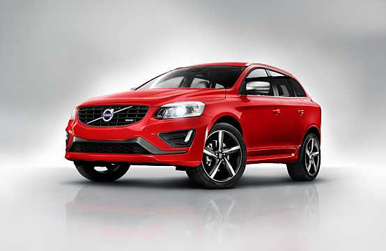 Front/Side  of Volvo XC60 2014