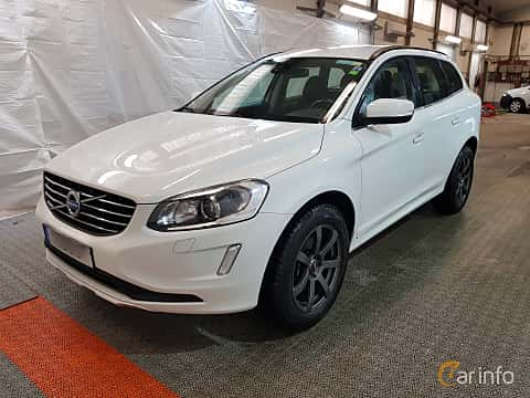 Front/Side  of Volvo XC60 2.4 D4 AWD Manual, 181ps, 2015