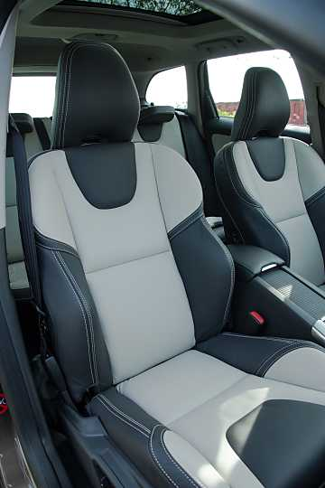 Interior of Volvo XC60 2014