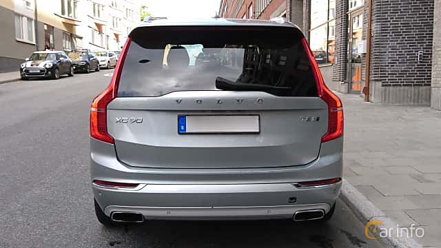 Back of Volvo XC90 T8 TwEn AWD Geartronic, 407ps, 2016