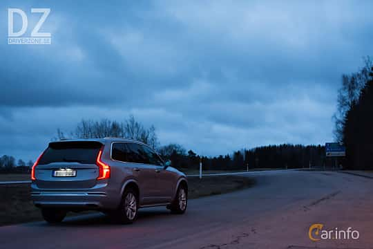 Back/Side of Volvo XC90 D5 AWD Geartronic, 235ps, 2017