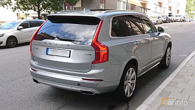 Back/Side of Volvo XC90 T8 TwEn AWD Geartronic, 407ps, 2016