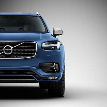Close-up of Volvo XC90 2015