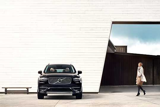 Front  of Volvo XC90 2015