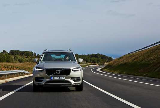 Front  of Volvo XC90 2015