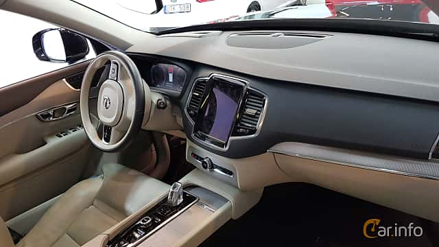 Interior of Volvo XC90 2.0 T8 AWD Geartronic, 407ps, 2016