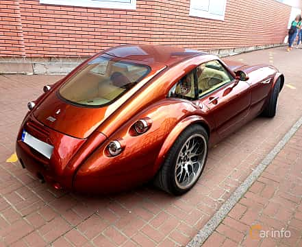 Back/Side of Wiesmann GT MF4 4.8 V8 Manual, 367ps, 2007