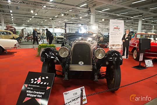 Front  of Willys Whippet Phaeton 2.2 Manual, 30ps, 1926 at Bilsport Performance & Custom Motor Show 2018
