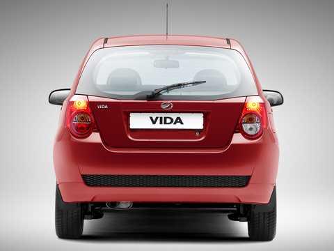 Back of ZAZ Vida 5-door 2012