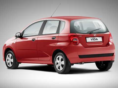 Back/Side of ZAZ Vida 5-door 2012