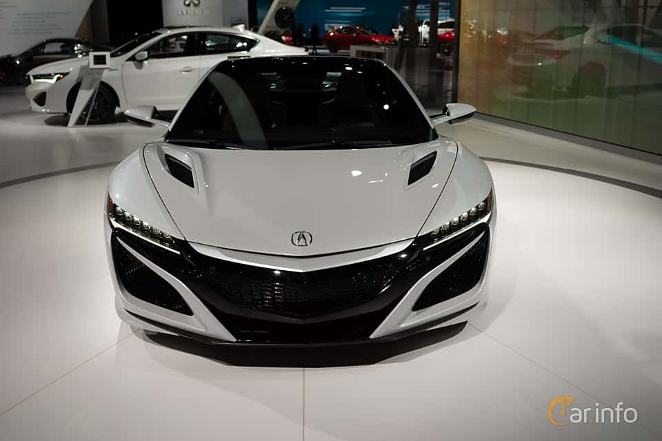 Front  of Acura NSX 3.5 V6 SH-AWD DCT, 573ps, 2019 at LA Motor Show 2018