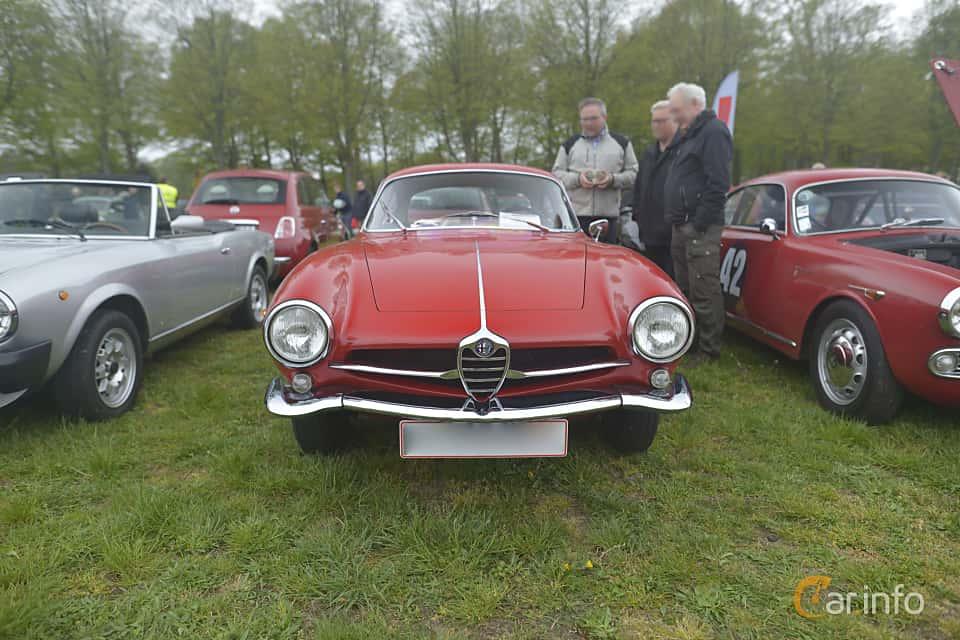 Fram av Alfa Romeo Giulia SS 1600 1.6 Manual, 106ps, 1963 på Italienska Fordonsträffen - Krapperup 2019